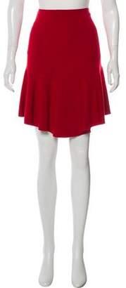Alaia Wool Knee-Length Skirt