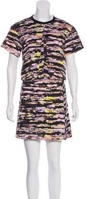 Cédric Charlier Printed Skirt Set