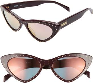 Moschino 52mm Cat's Eye Sunglasses