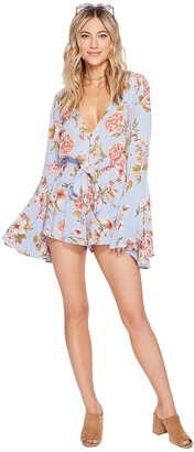 Billabong - Sittin Pretty Romper Women's Jumpsuit & Rompers One Piece $54.95 thestylecure.com