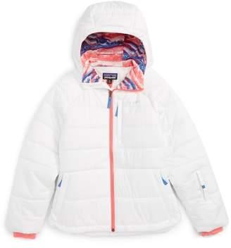 Patagonia Aspen Grove Water Resistant Hooded Jacket