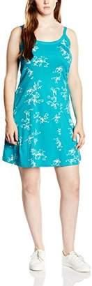 Sheego Women's Sleeveless Dress - Turquoise