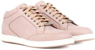 970cf9eddc2 Jimmy Choo Pink Women's Sneakers - ShopStyle