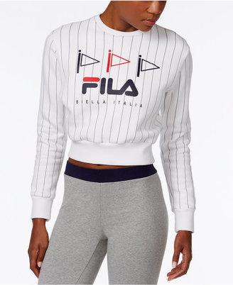 Fila Mara Cropped Sweatshirt $68 thestylecure.com