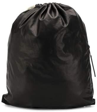 Rick Owens drawstring backpack