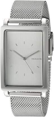 Skagen Men's SKW6288 Hagen Stainless Steel Mesh Watch