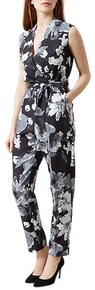 HOBBS LONDON Delphine Printed Jumpsuit $290 thestylecure.com