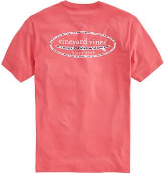 Vineyard Vines Vineyard Camo Surf Logo Pocket T-Shirt