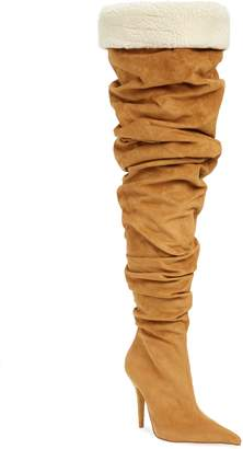 Jeffrey Campbell Igloo Slouchy Thigh High Boot