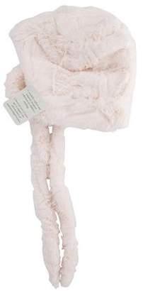 Isabel Garreton Girls' Crushed Faux Fur Hat