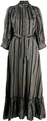 Antik Batik striped shirt dress