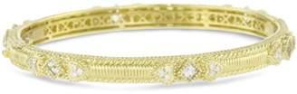 "Judith Ripka Romance"" Berge Romance Double Bangle Bracelet"