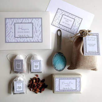 Aphrodite & Ares 'Hesperia' Spa And Tea Personalised Gift