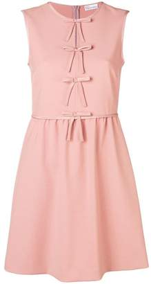 RED Valentino bow embellished dress