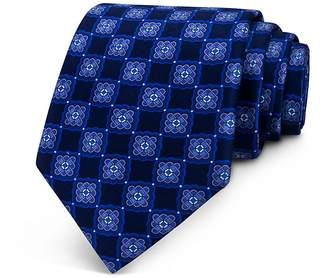 Bloomingdale's The Men's Store at Medallion Print Classic Tie - 100% Exclusive