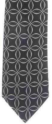 Gucci Geometric Jacquard Silk Tie