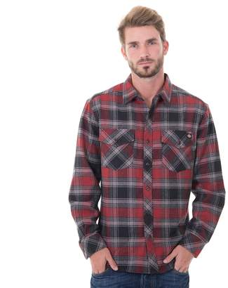 Dickies Men's Plaid Flannel Shirt