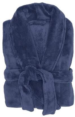 Denim Microplush Robe