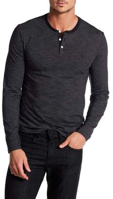 Original Penguin Slub Feeder Long Sleeve Shirt