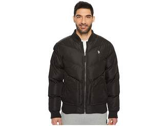 U.S. Polo Assn. Quilted Recon Bomber Jacket Men's Coat
