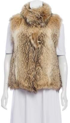 Matthew Williamson Coyote Fur Vest