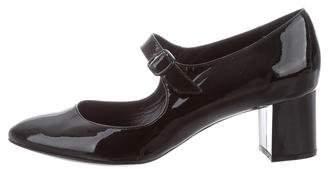 Bettye Muller Patent Leather Mary Jane Pumps