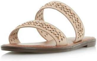 Dorothy Perkins Womens *Head Over Heels By Dune Taupe 'Luminosa' Flat Sandals
