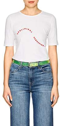 "Monogram Women's ""Subliminal Seduction."" Cotton T-Shirt"