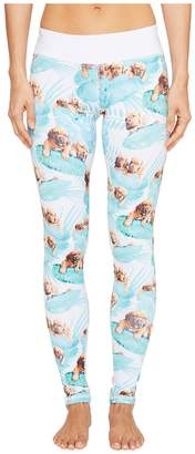 Puppies Make Me Happy Fern Puppies Leggings Women's Casual Pants