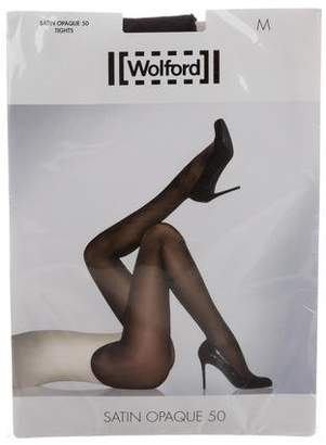 Wolford Satin Opaque 50 Tights w/ Tags