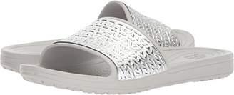 Crocs Women's Sloane Graphic Etched W Slide Sandal