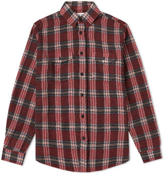 Saint Laurent 2 Pocket Check Shirt