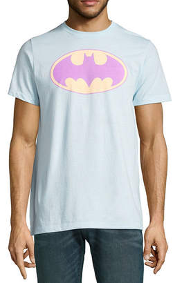 Novelty T-Shirts DC Pastel Batman Graphic Tee