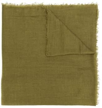Rick Owens frayed edge scarf