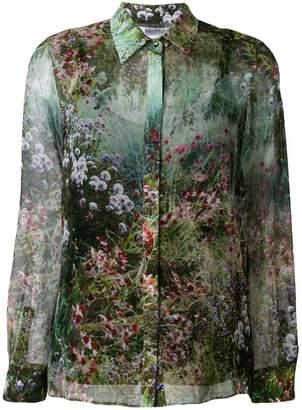 Max Mara garden-print shirt