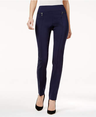 Style&Co. Style & Co Petite Seamed Pull-On Skinny Pants