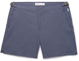 Orlebar Brown Bulldog X Slim-Fit Mid-Length Jacquard Swim Shorts