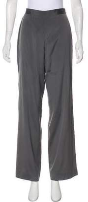 Calvin Klein Collection High-Rise Silk Pants