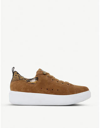 Bertie Endure suede trainers