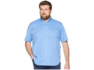Polo Ralph Lauren Big Tall Garment Dyed Chino Short Sleeve Sport Shirt Men's Clothing