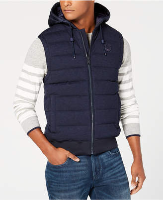 Tommy Hilfiger Men's Lamont Classic-Fit Quilted Full-Zip Hooded Vest