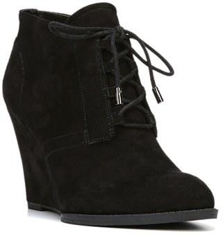 Franco Sarto 'Lennon' Lace Up Wedge Bootie (Women) $138.95 thestylecure.com