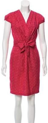 Karen Walker Polka Dot Knee-Length Dress