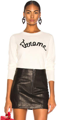 Frame Cursive Sweater