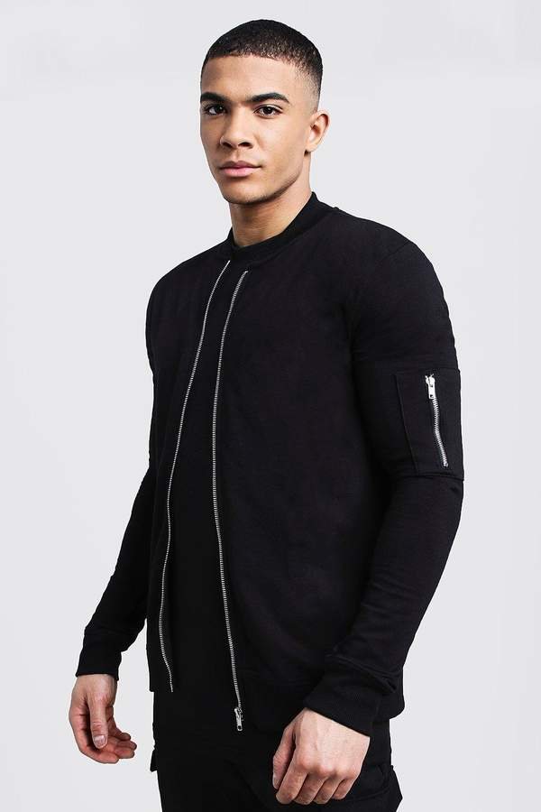 Muscle Fit MA1 Bomber Jacket