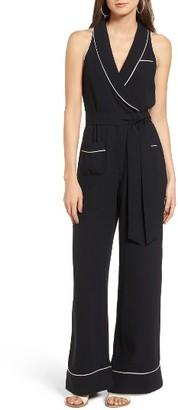Women's Leith Wrap Surplice Jumpsuit $85 thestylecure.com