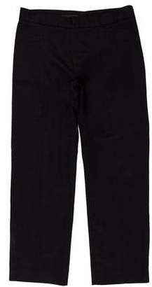 Narciso Rodriguez Cropped Mid-Rise Pants