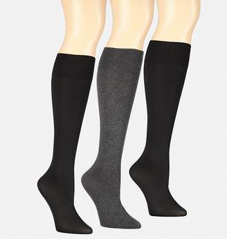 Avenue Heather Mix Trouser Socks-3 Pack