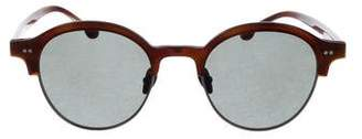 Steven Alan Round Tinted Sunglasses