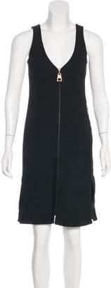 Louis Vuitton Wool Sheath Dress